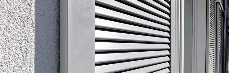 Händlersuche- EHRET - Alu-Fensterläden u. Klappläden, Fensterladen u. Klappladen aus Aluminium