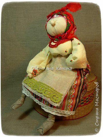 Куклы Шитьё ХарАктерные бабуськи народная кукла Ткань Шпагат фото 8