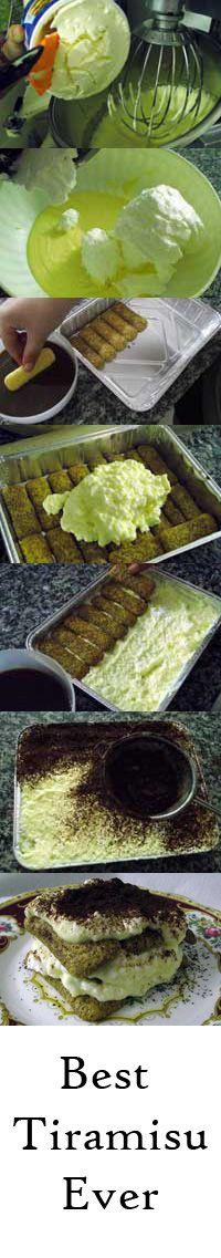 Not just a #tiramisu #recipe but an authentic Italian delight!!