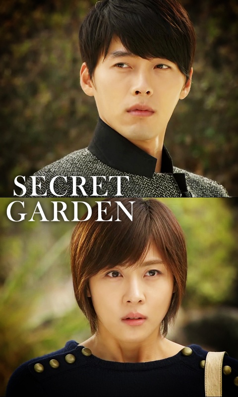 Hyun bin, yes he goes in here twice!!! Need a reason? He can even act as her!