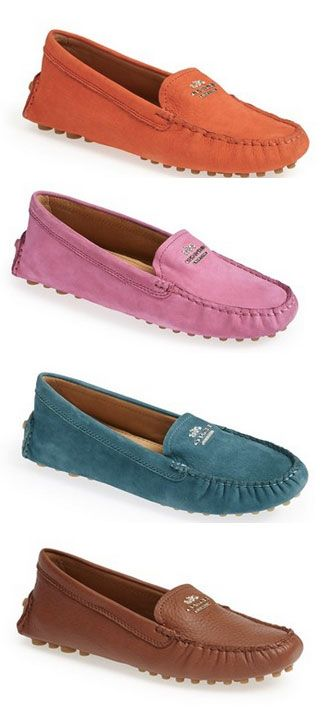 Coach driving loafers http://rstyle.me/n/nzy3hnyg6