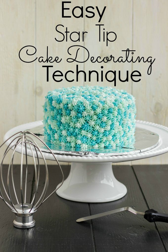 1000 ideas about easy cake decorating on pinterest for Star decorating tip