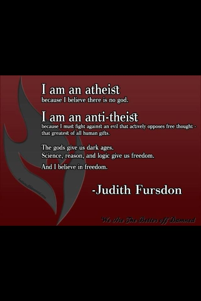 anti theist jokes Atheism is the absence of belief in gods anti-theism is a conscious and deliberate opposition to theism many atheists are anti-theists, but not all.