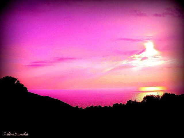 Ελένη Τράνακα: Ηλιοβασίλεμα, Ζάκυνθος / Sunset, Zakynthos