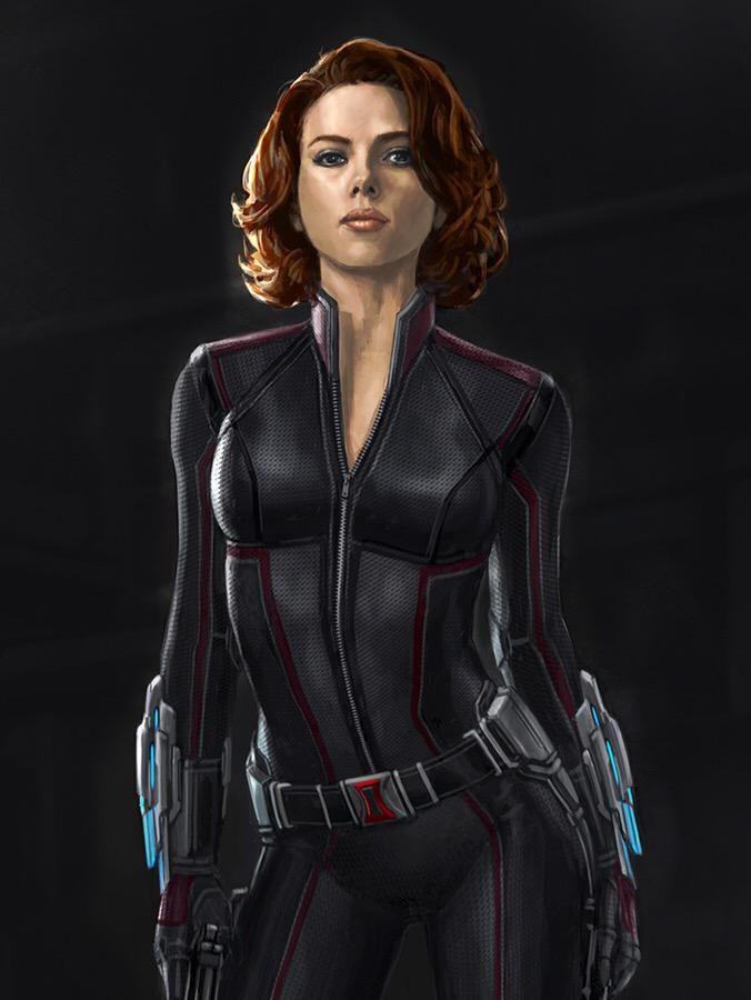 andy parks black widow   Concept art de Avengers: Age of Ultron / Vengadores: La Era de Ultrón ...