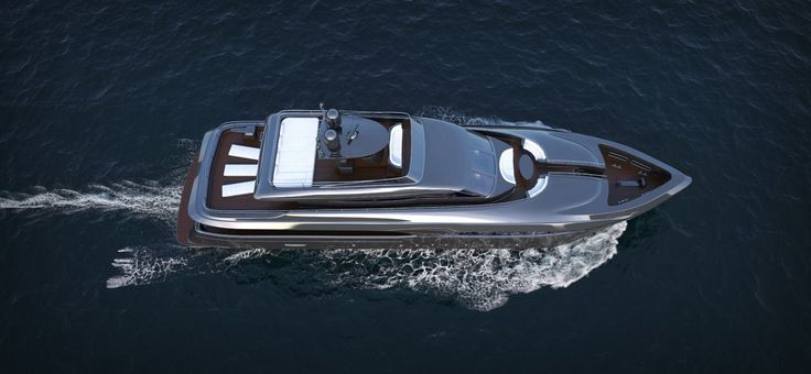 3D yacht and water simulation
