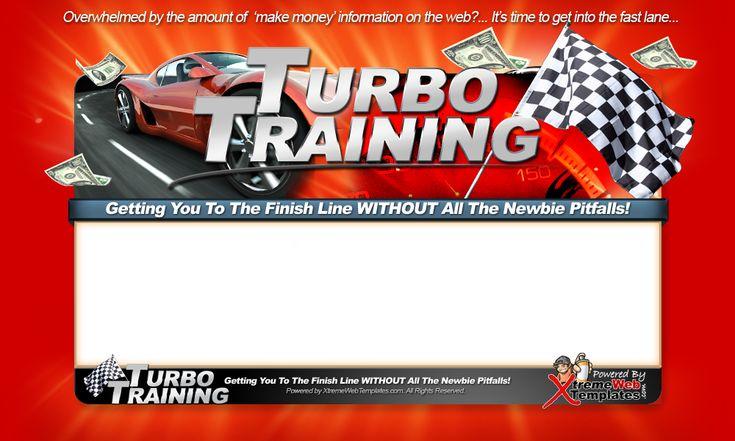 Minisite Graphics Set #24: Turbo Training
