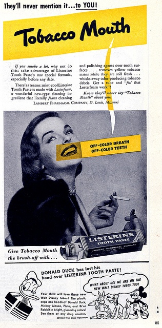 Listerine Toothpaste by Digital Collections at the University of Maryland, via Flickr