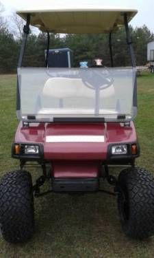 19 best golf carts images on pinterest custom golf carts lifted 2002 club car ds custom gas golf cart fold down windshield new paint job sciox Choice Image