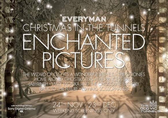 Old Vic Tunnels- Enchanted Pictures!