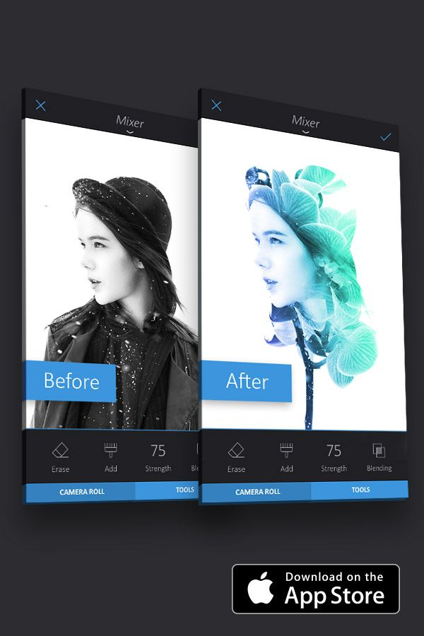 You won't believe what you can do on an iPhone. Download Enlight!