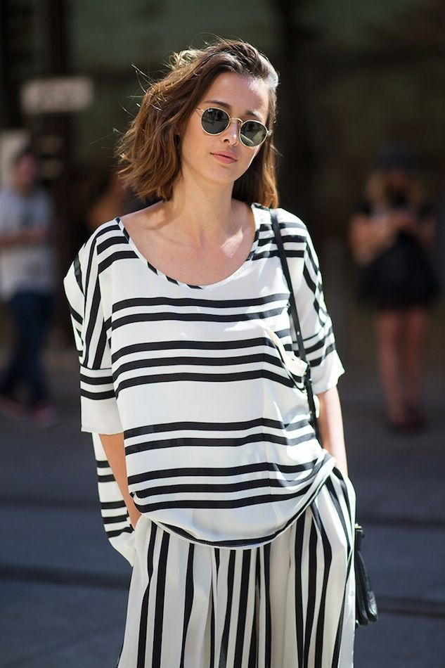 Under $100: Get This Chic Striped Separates Street Style Look