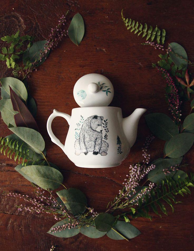 Bear teapot