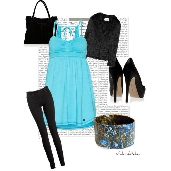 """""""Shades of blue"""" by valeriatelier on Polyvore"""