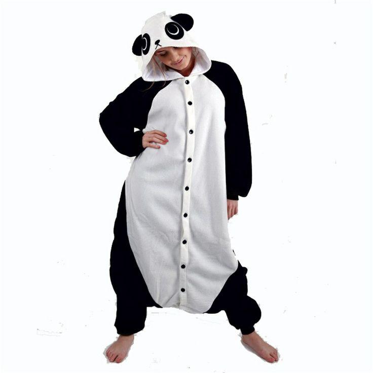 Panda kostyme - KIGU - Kostymer for voksne - Partykostymer.com