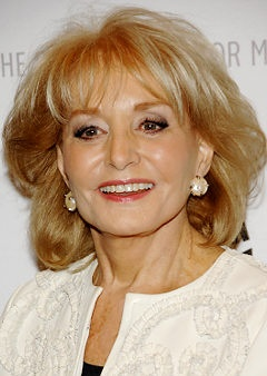 Barbara Walters. brilliant and beautiful.----anchorwoman, journalist.  Retiring today 5/16/14.