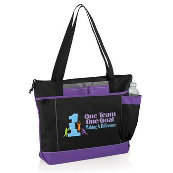 One Team One Goal Making A Difference Madison Tote Bag