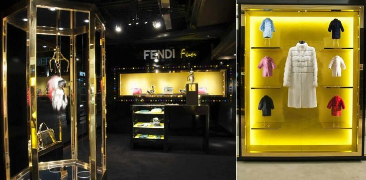 Playful Arcade Theme featured by Fendi at Harrods   More at http://interiordesignshop.net/