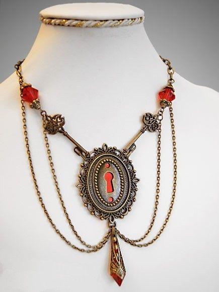 Bijoux gothique steampunk