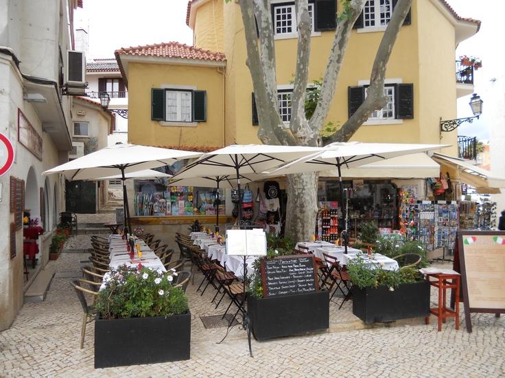 Restaurant in Cascais, Portugal