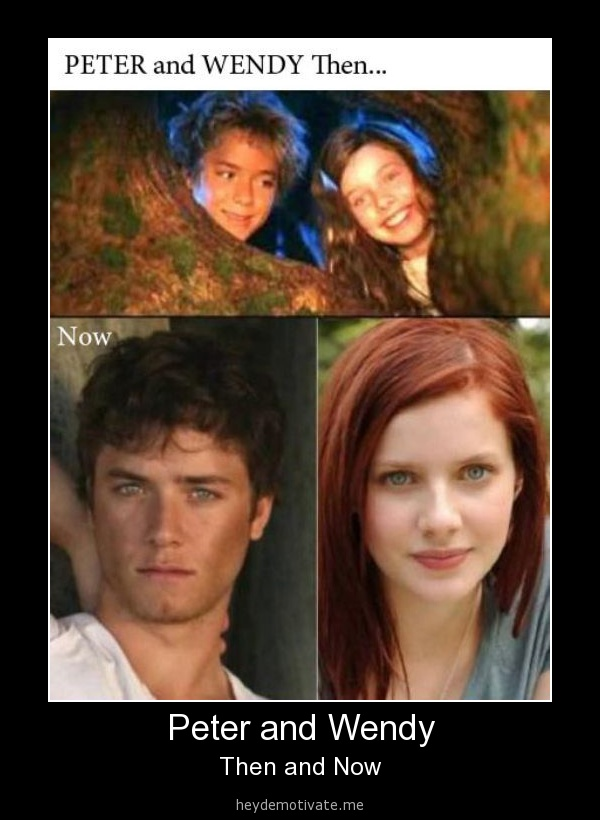 - Peter and Wendy. wow!