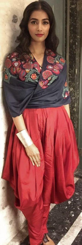 Pooja Hegde. @amoh_byjade #dhotiPants