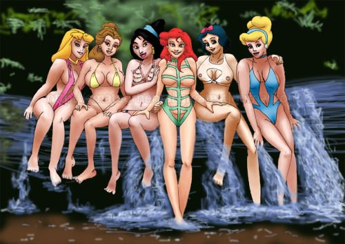 Disney Alternative Cartoon Sexy Princesses Princess Disney -4913