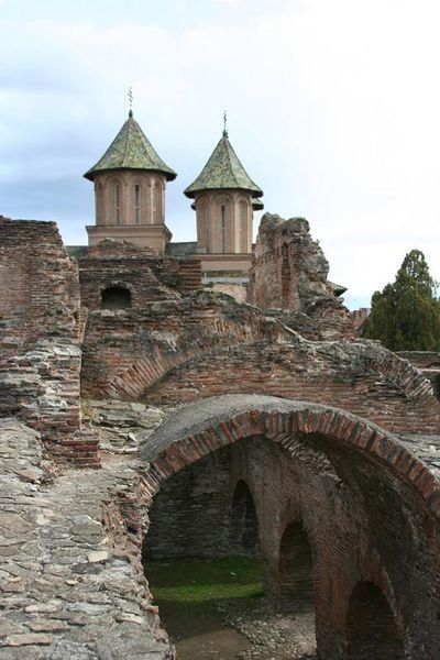 Targoviste Castle where Vlad Tepes impaled hundreds of victims