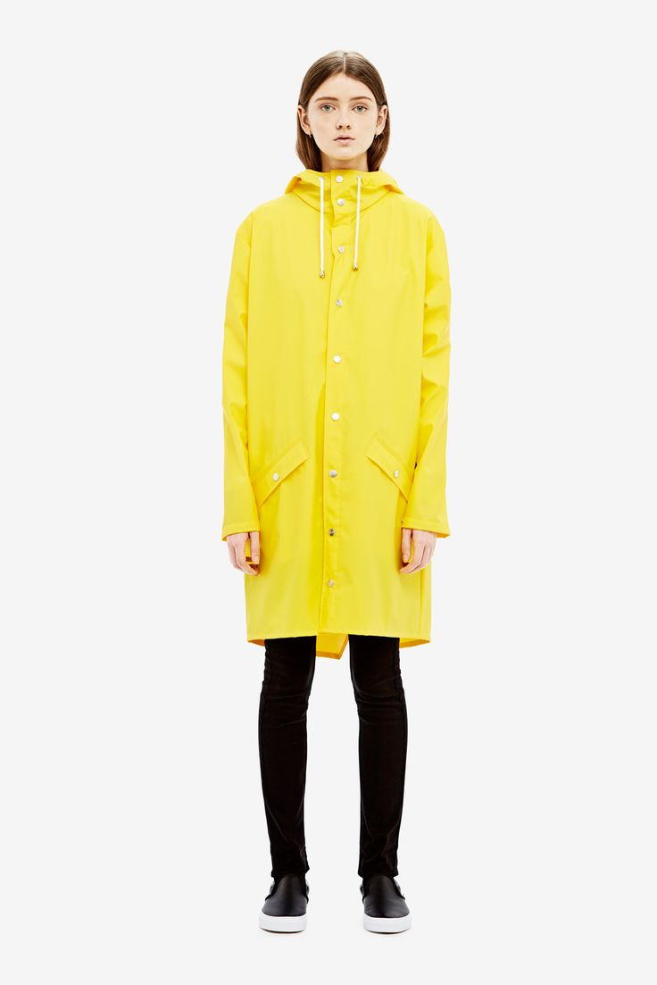 Long Jacket is a modern interpretation of the classic rubber raincoat. The…
