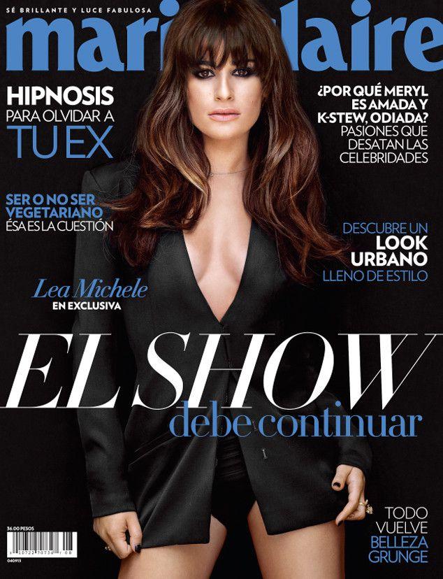 Lea Michele - Singer/Actress : Marie Claire magazine cover!