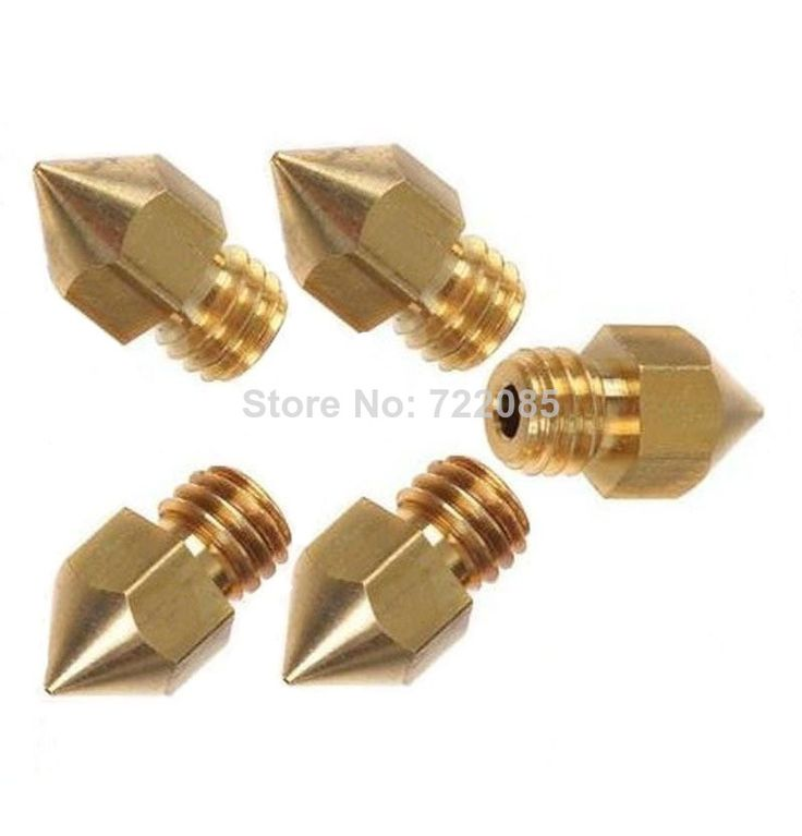 Cheap printer ceramic, Buy Quality printer address directly from China printer shirt Suppliers: With Tracking Number 50pcs/lot Mixed Sizes!!! Nozzle 0.4mm/0.3mm/0.2mm Extruder Head For 1.75MM Filament MK8 Makerbot 3D
