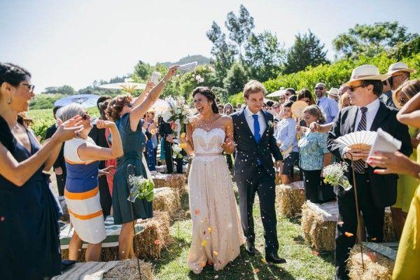 Rustic Vineyard Wedding at Quinta de Sant'Ana