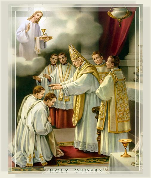 """The Sacrament of Holy Orders.  The priest is not his own man;  rather, he belongs to Christ.  He is ontologically configured to Christ to be another Christ.  At the altar, nothing happens as a result of the priest in his own person.  Without a valid priesthood, we do not have a valid Eucharist (and no Confessions, either!  I know what you're thinking:  """"yay!  No Confession!""""  But what if we're in a state of mortal sin?  Then we would be receiving the Eucharist unworthily, and that avenue of…"""