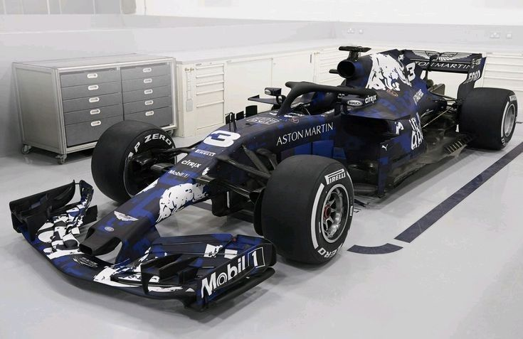 Presentatie RB14, 19-02-2018. Aston Martin Red Bull Racing.