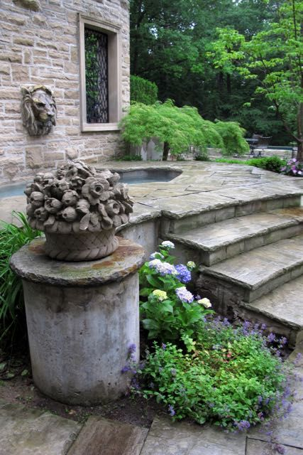 Toronto Gardens: The power of wrought-iron and stone