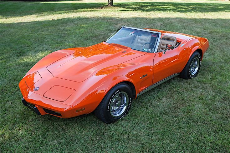 Corvettes at Carlisle attracts the best Corvettes from all over the country. Steven Boyd's 1975 Corvette Roadster was a standout among Kings..