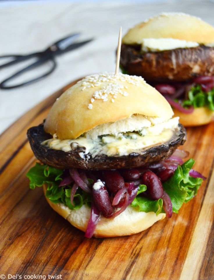 Best 25+ Portobello mushroom burger ideas on Pinterest ...