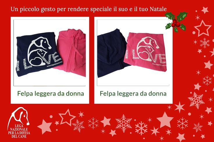 Un piccolo gesto per rendere speciale il suo e il tuo #Natale ♥ #felpa #shoppingsolidale #lamorelasciailsegno #oltrelaspecie #love #iostoconglianimali 👉 http://bit.ly/2fM0ir7