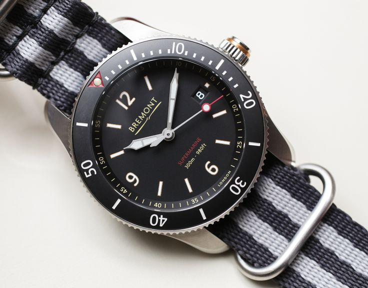 After visiting Bremont's first BaselWorld event in England, our James Stacey goes Hands-On and takes a closer look at Bremont's latest addition to the Supermarine family, the S300 and S301 divers...