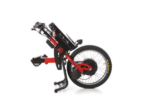 Batec for Paraplegics in Red