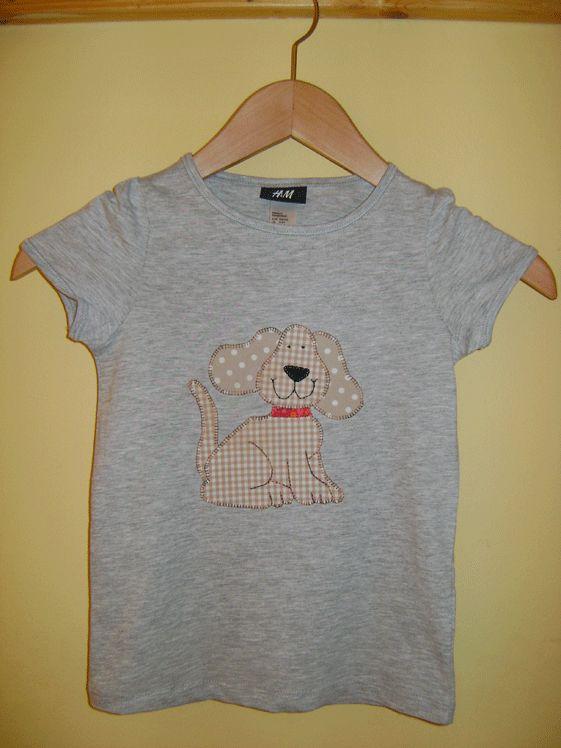 Camisetas patchwork dibujos