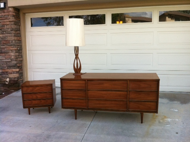Mid Century Modern Bedroom Set Lamp Homie Stuff