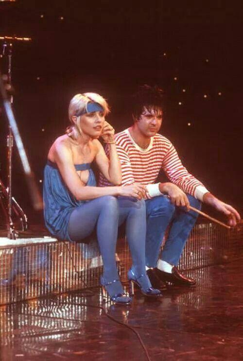 Debbie Harry & Clem Burke of Blondie