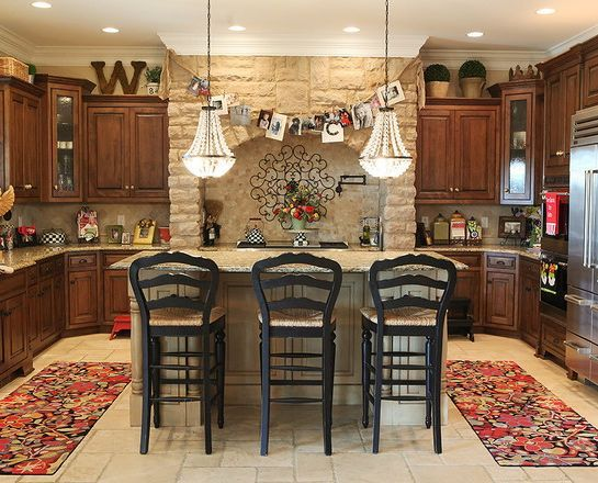 6 tips for decorating the space above kitchen cabinets - Decorating Ideas For Top Of Kitchen Cabinets