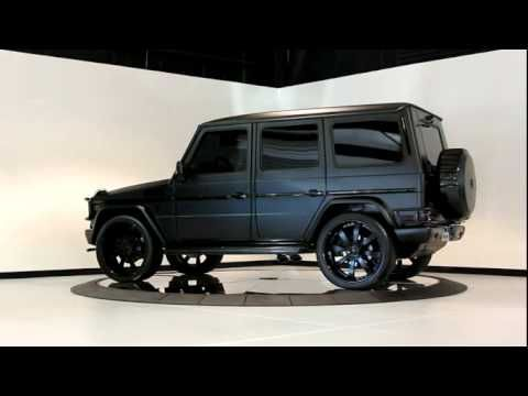 2010 matte black mercedes benz g550 luxury cars for Mercedes benz g wagon black matte