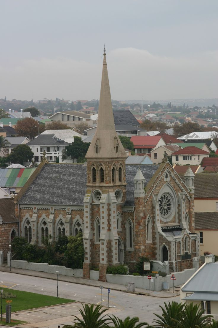 Old Church in Central, Port Elizabeth, South Africa as seen from the Donkin.