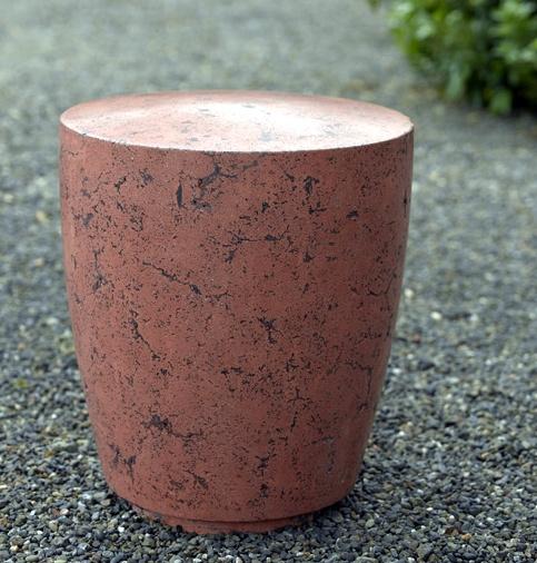 Concrete Drum Stool   Buddy Rhodes Studio