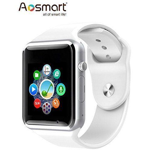 Bluetooth Smart Wrist Watch For Phone Camera Pedometer Sleep Tracker White NEW #SmartWatchiOSAndroid