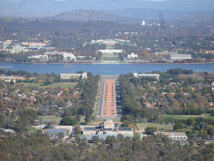 Canberra from a place I thought they called Hilltop, but it seems Hilltop is up near Sydney!!  LOL!!