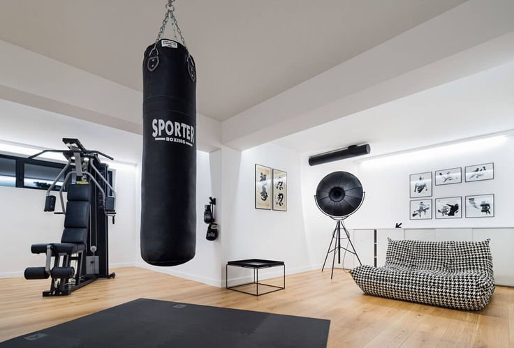 Residential House in Sofia Home Gym Ideas. The easy way to buy or sell your home and maximize your ROI - http://www.LystHouse.com